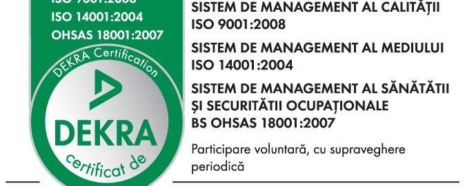 Certificari Siatec - iso:9001, iso: 14001, iso 18001