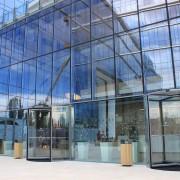 The Office, Cluj, Siatec, Blasi, Aluterm Group, Usi rotative automate, usi sticla, cladire birouri