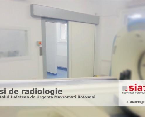 Uși TORMED cu protecție la radiații