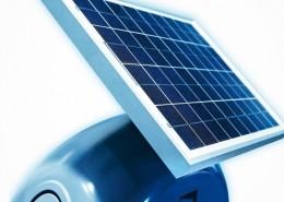 Panou solar pentru alimentare automatizarilor pentru porti