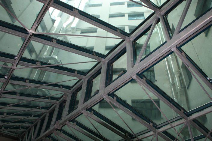 Biblioteca Nationala, automatizari ferestre, Siatec, Comunello L35, motoare ferestre